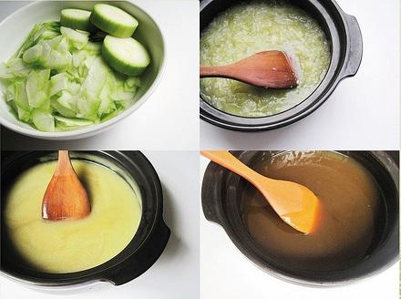 Mách nhỏ cách nấu cao bí đao trị tàn nhang thật đơn giản 3
