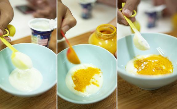 Mẹo trị tàn nhang bằng sữa chua nghệ