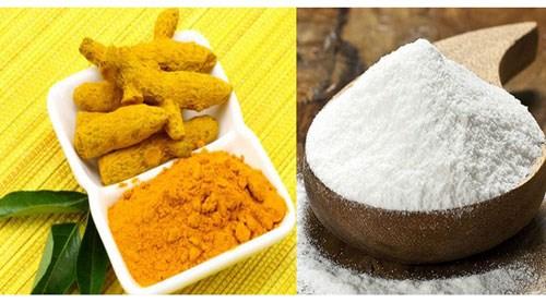 cách trị tàn nhang bằng bột nghệ và bột gạo
