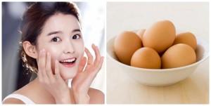 Mặt nạ trứng gà trị tàn nhang: Đẹp mà rẻ