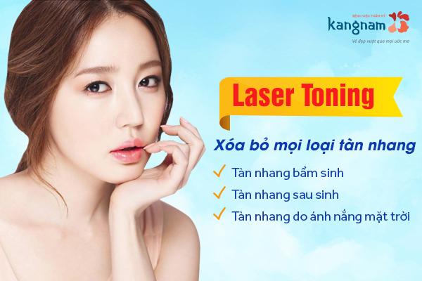 laser toning