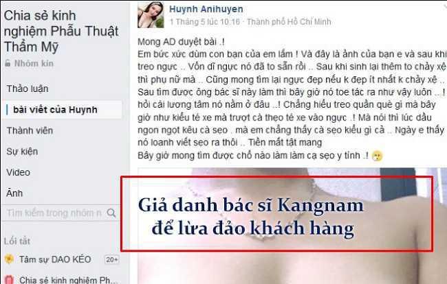 thẩm mỹ viện Kangnam Biên Hòa Đồng Nai
