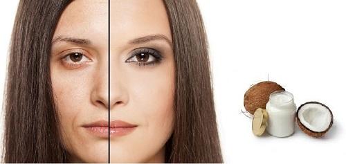 mặt nạ dầu dừa