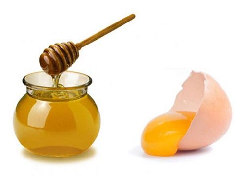 mặt nạ trứng gà mật ong