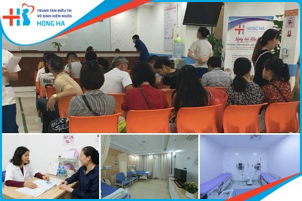 Nhiều chị em lựa chọn Bệnh viện đa khoa Hồng Hà điều trị vô sinh hiếm muộn toàn diện